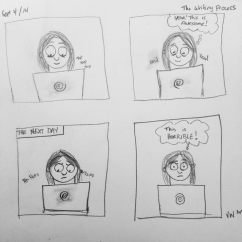 Comic: Writing Process