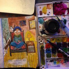 Sketchbook Project Excerpt 4
