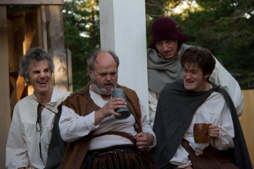 Andy Jones in Tartuffe New World Theatre Project Cupids, NL 2011
