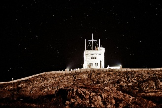Starry Night on Singnal Hill, NL