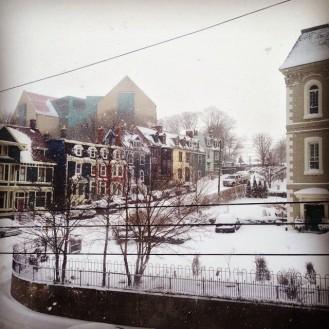 Winter on Garrison Hill, NL